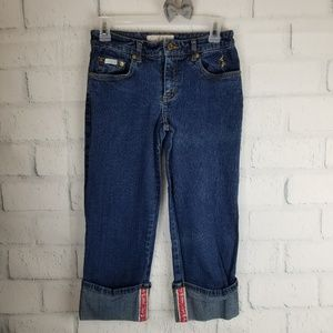 Baby Phat Cropped Jeans. Size 3.